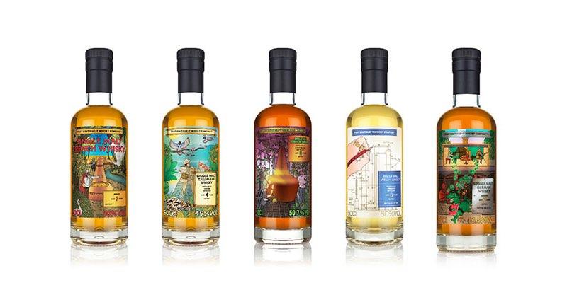 Boutique-y presenta la gama de whisky de su World Series