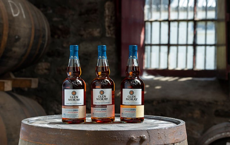 Glen Moray revela The Glen Moray Distillery Edition 2020 trio