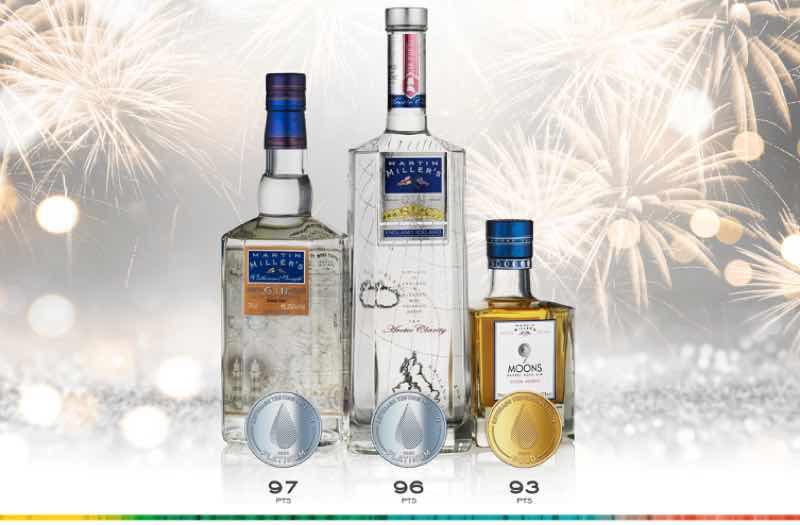 "Martin Miller's Gin recibe tres nuevas medallas del ""Beverage Testing Institute"""