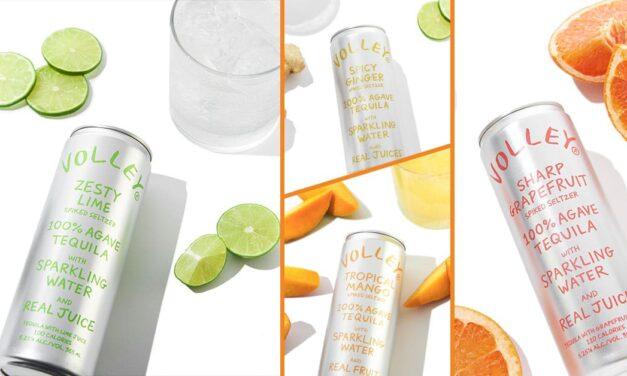 Se lanza Volley, gama de hard seltzer a base de tequila