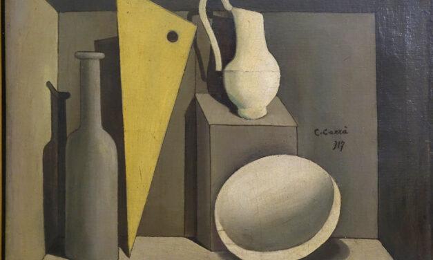 """""""Bodegón"""" (1919), de Carlo Carrà"""