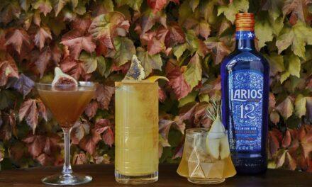 Antonio Aranda crea tres recetas de cócteles con los ingredientes más tradicionales del Otoño Mediterráneo fusionados con Larios 12