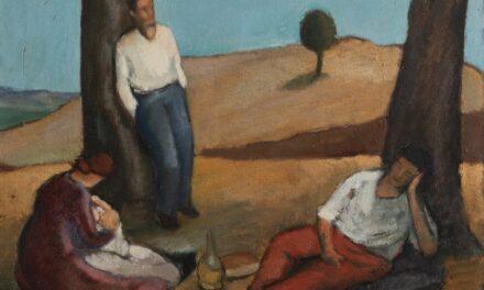 """La siesta"" (1928), de Emanuele Cavalli"
