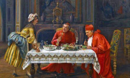 """""""Una buena comida"""" (1900), de Francesco Brunery"""