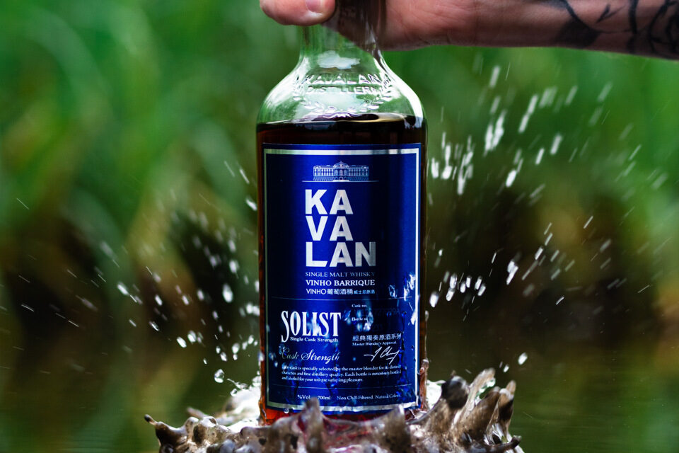 Kavalan crea un segundo whisky STR, Kavalan Solist Vinho Barrique Single Cask Strength