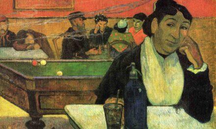 """""""Café de noche en Arlés"""" (1888), de Paul Gauguin"""