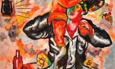 """""""Pan/Vino"""" (1990), de Sandro Chia"""
