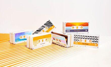 """Esta Navidad Veuve Clicquot nos transporta a los años 80 con los populares """"cassettes"""" de música y sus nuevas ediciones limitadas Retro Chic"""