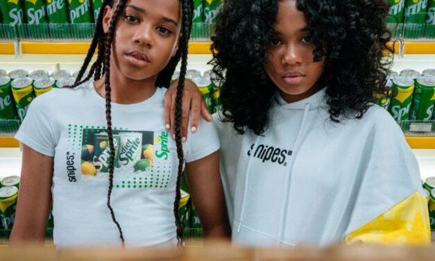 La marca SNIPES y Sprite presentan una nueva colección de ropa con un estilo muy verde