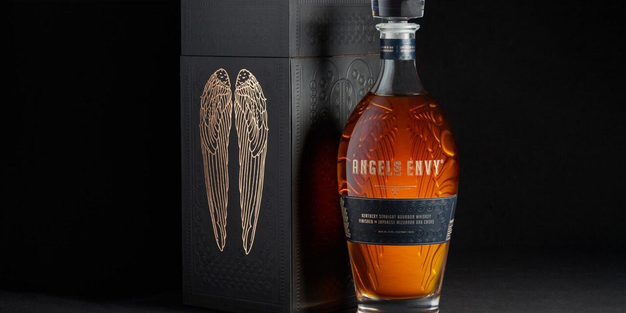 Angel's Envy lanza Angel's Envy Kentucky Straight Bourbon Finished in Japanese Mizunara Oak Casks