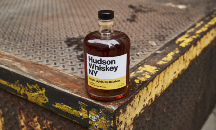 Hudson crea nuevo whisky con Bright Lights, Big Bourbon
