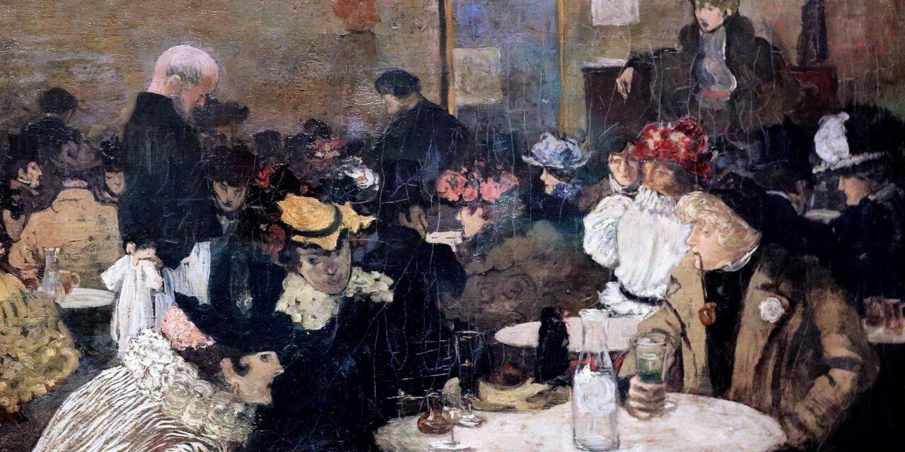 """""""El sótano en el Soleil d'Or"""" (1892), de Henri Evenepoel"""