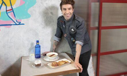 Solán de Cabras lleva su burbuja crujiente a un inesperado menú creado por el Chef Bosquet