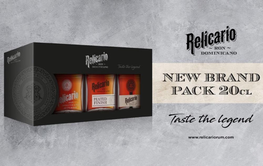 Beveland lanza el paquete triple de ron Relicario