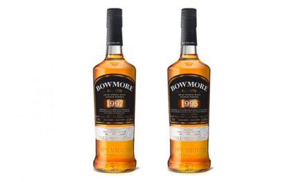 Bowmore crea whiskies exclusivos para Heinemann, Bowmore 1995 y Bowmore 1997