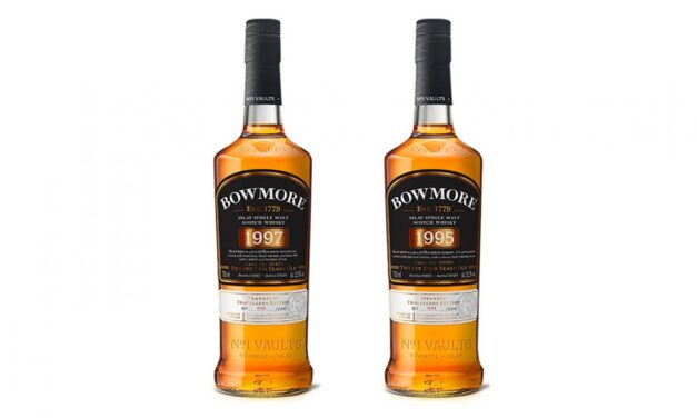 Bowmore crea whiskies exclusivos para Heinemann, Bowmore 1995 y Bowmore 1997