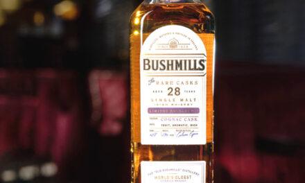 Bushmills lanza Bushmills 28 Year Old Single Malt Cognac Cask Whiskey