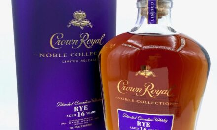 Crown Royal amplía Noble Collection con whisky de centeno en Crown Royal Noble Collection Rye Aged 16 Years