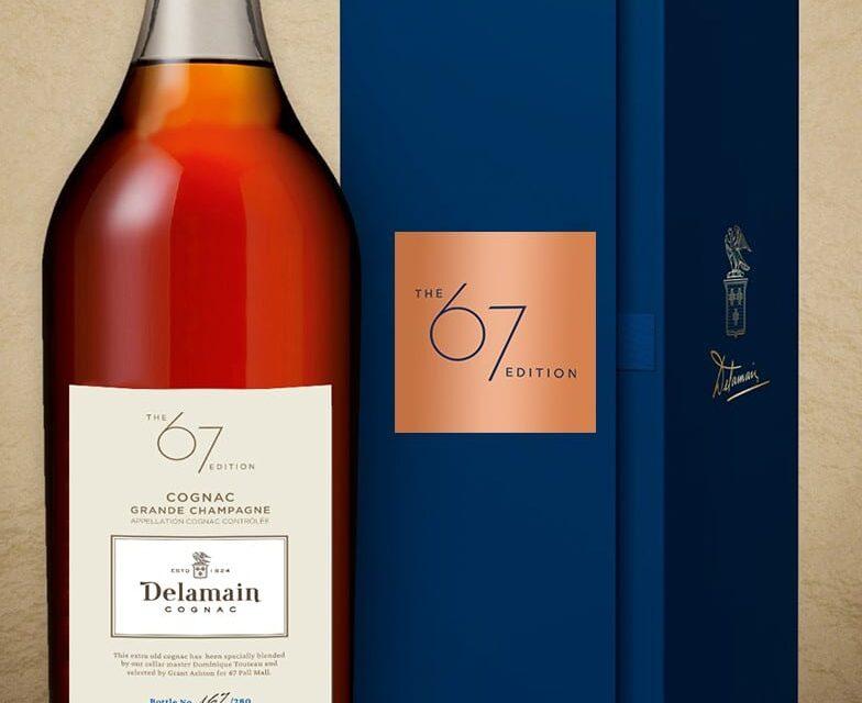 Delamain y 67 Pall Mall crean un nuevo coñac, Delamain Cognac – The 67 Edition