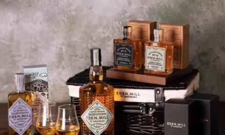 Eden Mill lanza un nuevo whisky y cestas, Hip Flask #16 y Hip Flask #17