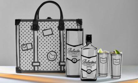 Ballantine's colabora con el artista Joshua Vides en el diseño de la botella Finest