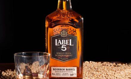 Label 5 crea el whisky escocés de grano único, Label 5 Bourbon Barrel