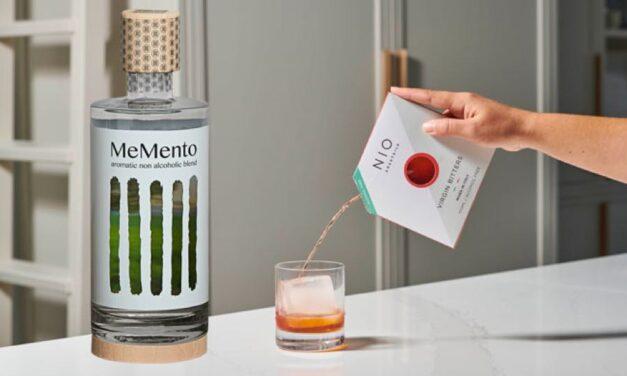 Memento y Nio revelan cócteles RTD sin alcohol