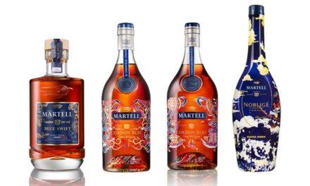 Martell se asocia con 3 artistas para ediciones limitadas