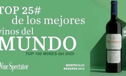 Montecillo Rioja Reserva 2013 incluido entre los 25 mejores vinos del mundo por Wine Spectator