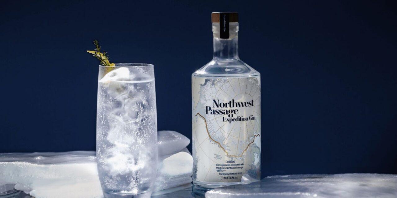 Orkney Distillery lanza una ginebra inspirada en los exploradores, Northwest Passage Expedition Gin