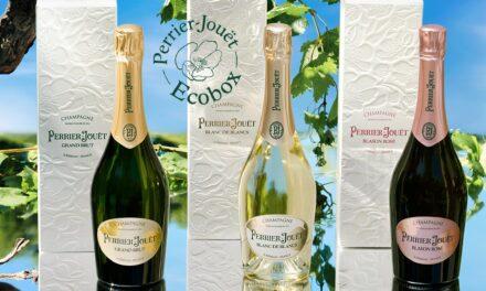 Perrier-Jouët presenta la colección de cajas de regalo ecológicas para champagnes clásicos