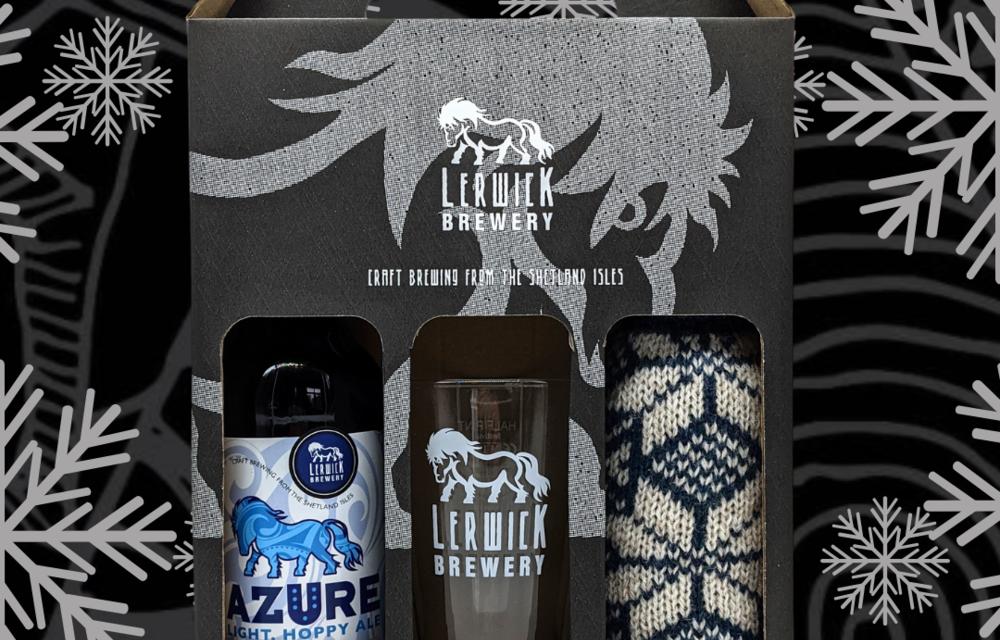 La cervecería Lerwick de Shetland lanza un paquete de regalo festivo de Fair Isle