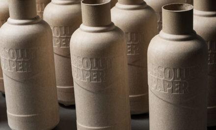 The Absolut Company lanza botellas de papel buscando la sostenibilidad