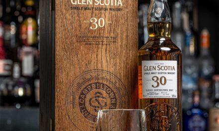 Glen Scotia embotella un whisky 30YO de Jerez madurado en barril, The Glen Scotia 30 Year Old