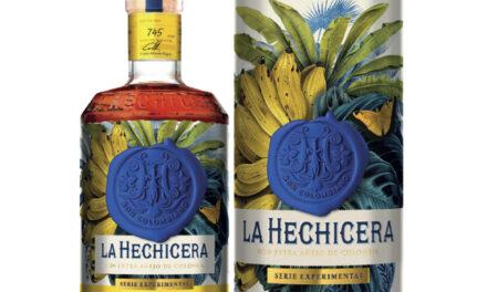La Hechicera desvela el ron con sabor a plátano, The new Serie Experimental No. 2, The Banana Experiment