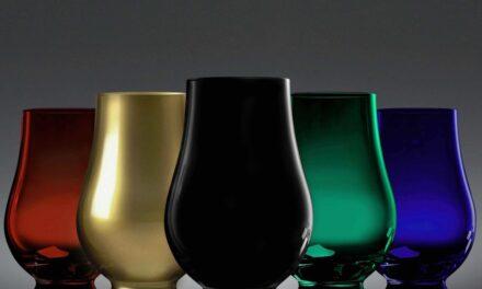 Glencairn crea cinco vasos de whisky de colores de edición limitada