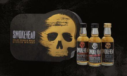 Smokehead debuta con un set de regalo de whisky en miniatura