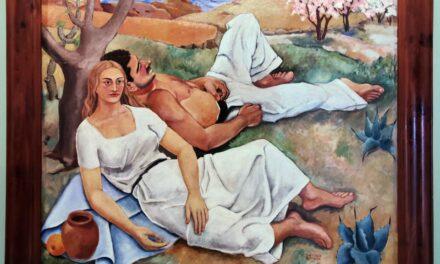"""""""La siesta"""" (1934), de Santiago Santana"""