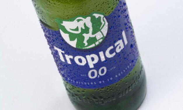 Compañía Cervecera y Tropical apuestan por la innovación con el lanzamiento de Tropical 0,0