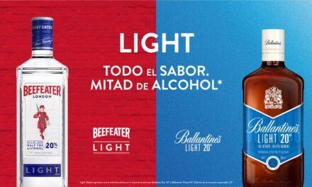 Pernod Ricard revoluciona el mercado de espirituosos con la creación de la categoría low-alcohol y el lanzamiento de dos nuevas referencias: Beefeater Light y Ballantine´s Light
