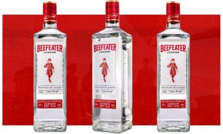 Beefeater lanza una botella de ginebra más sostenible