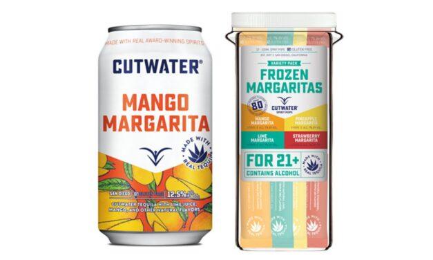 Cutwater Spirits presenta su línea de margaritas con sabor a fruta y lanza Mango