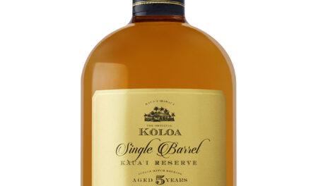 Koloa Rum lanza Kaua'i Reserve Five-Year Aged Hawaiian Rum