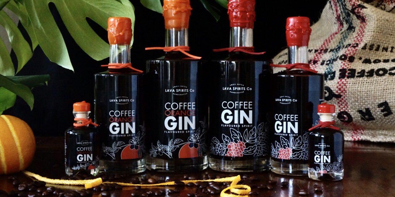 Lava Spirits Co lanza una gama de ginebras de café