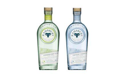 Ramsbury Single Estate Spirits lanza nuevas botellas de ginebra y vodka