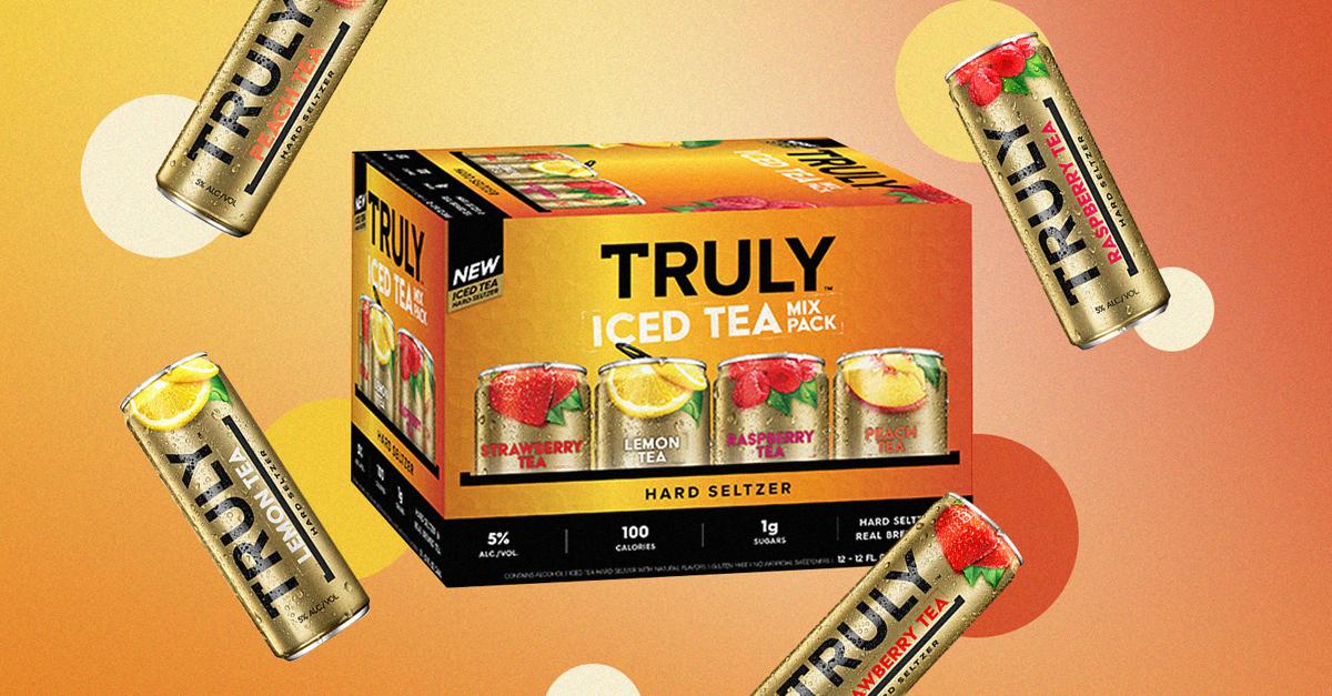 Truly Hard Seltzer lanza Truly Iced Tea Hard Seltzer