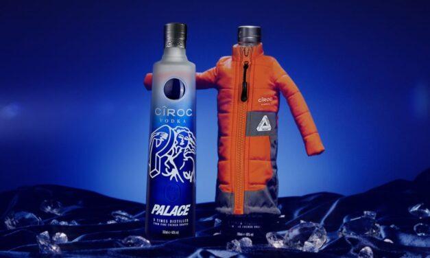 Ciroc y Palace Skateboards se reúnen para comprar botellas de edición limitada de PALACÎROC