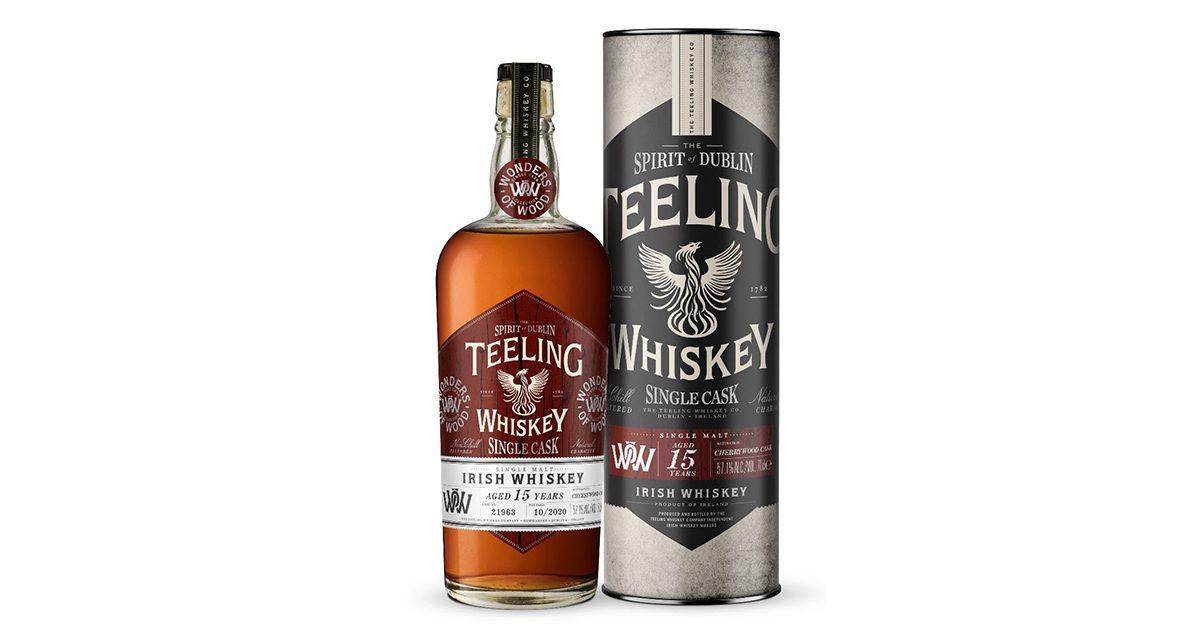Teeling Whiskey revela Wonders of Wood Cherry Wood Cask