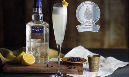 Westbourne Gin de Martin Miller, galardonada como la mejor ginebra del mundo de 2020 por el Beverage Testing Institute