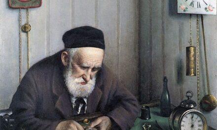 """""""El Relojero"""" (1897), de Yehuda Pen"""